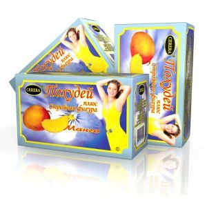«Похудей плюс стройная фигура» с ароматом манго