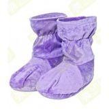Ароматические травяные носки-грелки (фиолетовый)